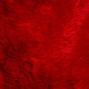 Tecido Pelúcia Vermelho